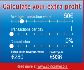 Calculate your profit with CoinCasher™
